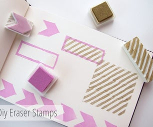Make Your Own Diy Custom Eraser Stamps.