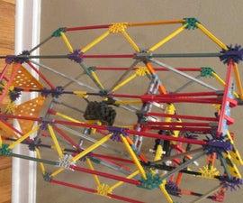 Two Ball Flipper- A K'nex Ball Machine Element