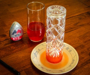 Burning Candle, Rising Water Experiment