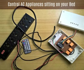 Control AC Appliances Sitting on Your Bed