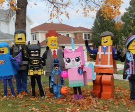 The Lego Movie Lego Costumes