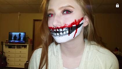 Picture of Halloween Skull Makeup