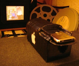Make an iPod Video Projector