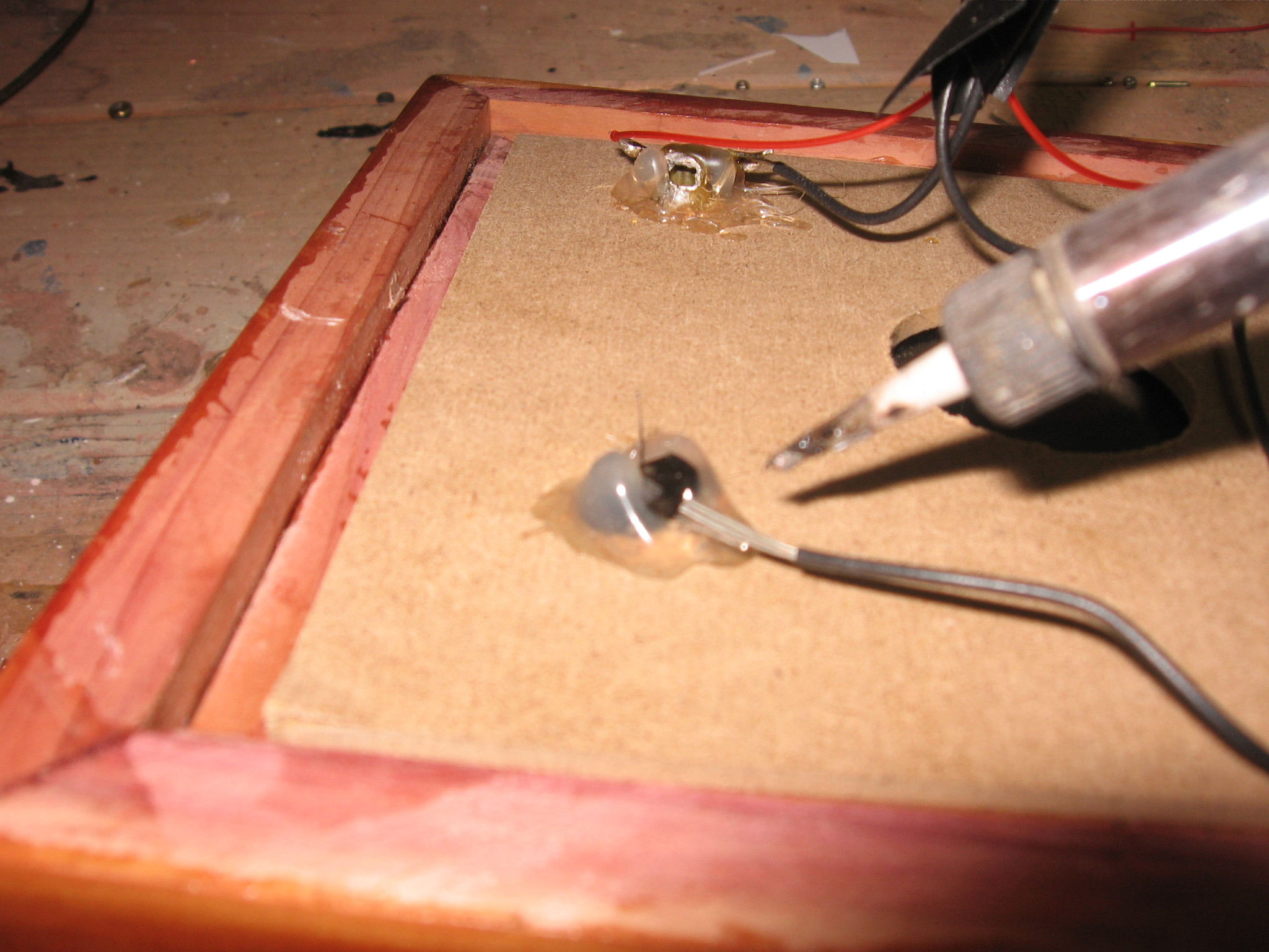 Picture of Install the Vacuum Tubes Into the Base