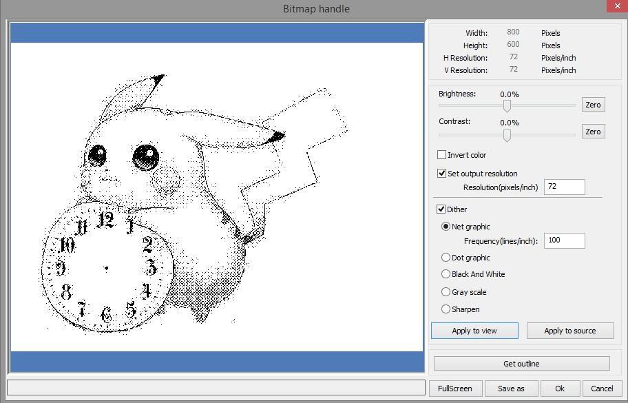 Picture of Laser Cutter Software (RDWorks)