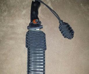 Hunter Knife Paracord sheath