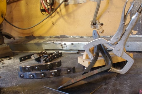 Bend the Brackets and Weld in the Curved Piece