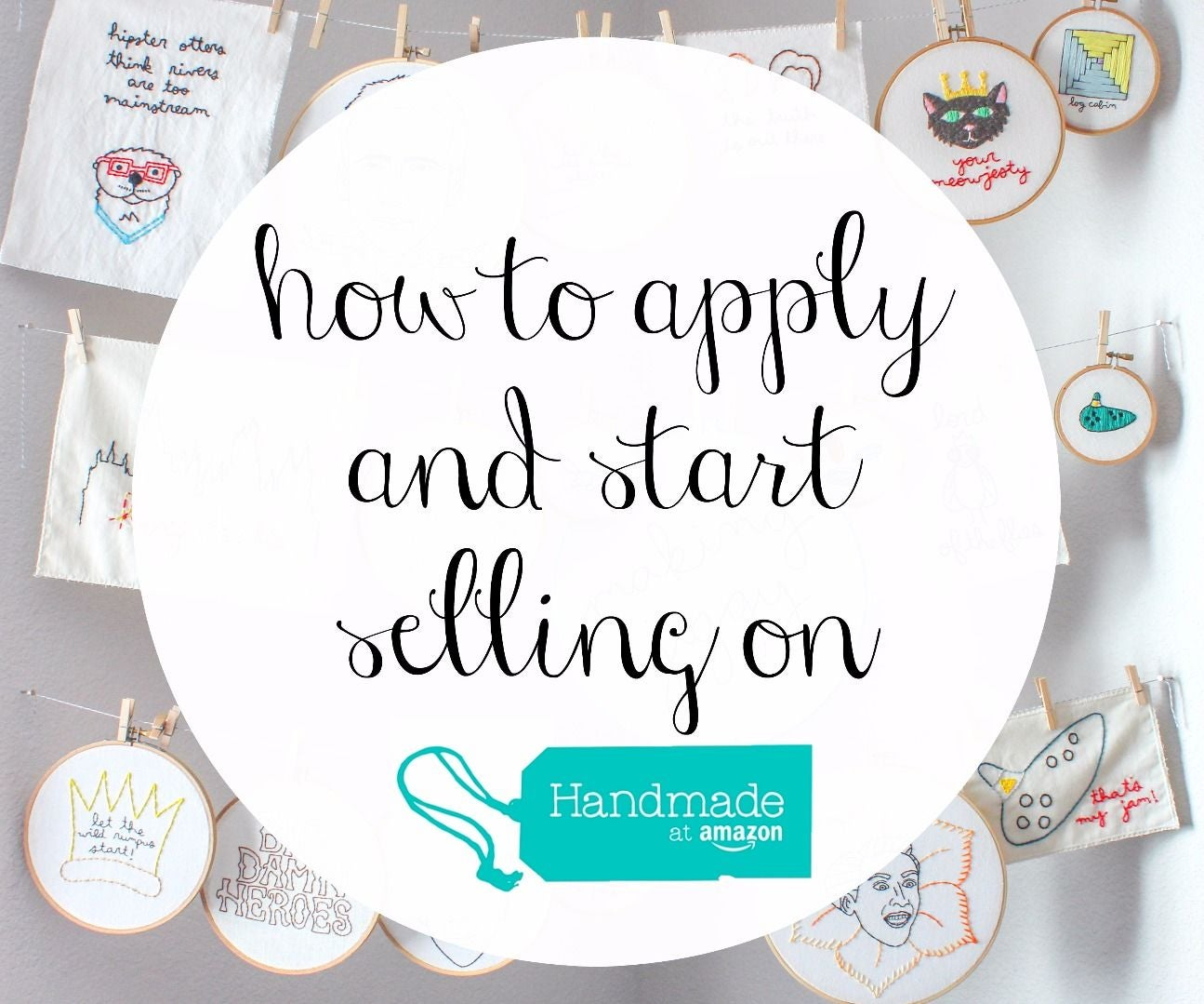 ca5c50642 How to Apply and Sell With Handmade at Amazon: 10 Steps (with Pictures)