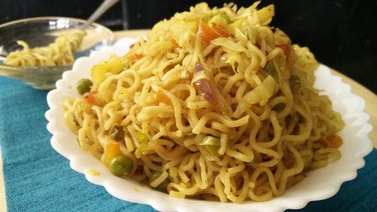 Masala Maggi | Vegetable Punjabi Maggi