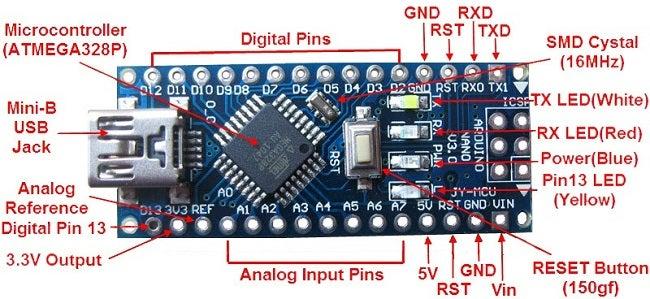 1. Arduino Nano
