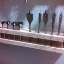Forstner bit / spade bit holder and display
