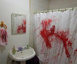 Create a Bathroom Murder Scene