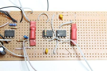 2nd Circuit - Light Theremin