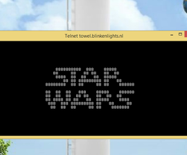 """Watch """" STAR WARS """" on command prompt"""