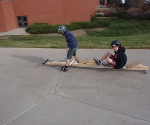 Two Person Street Luge