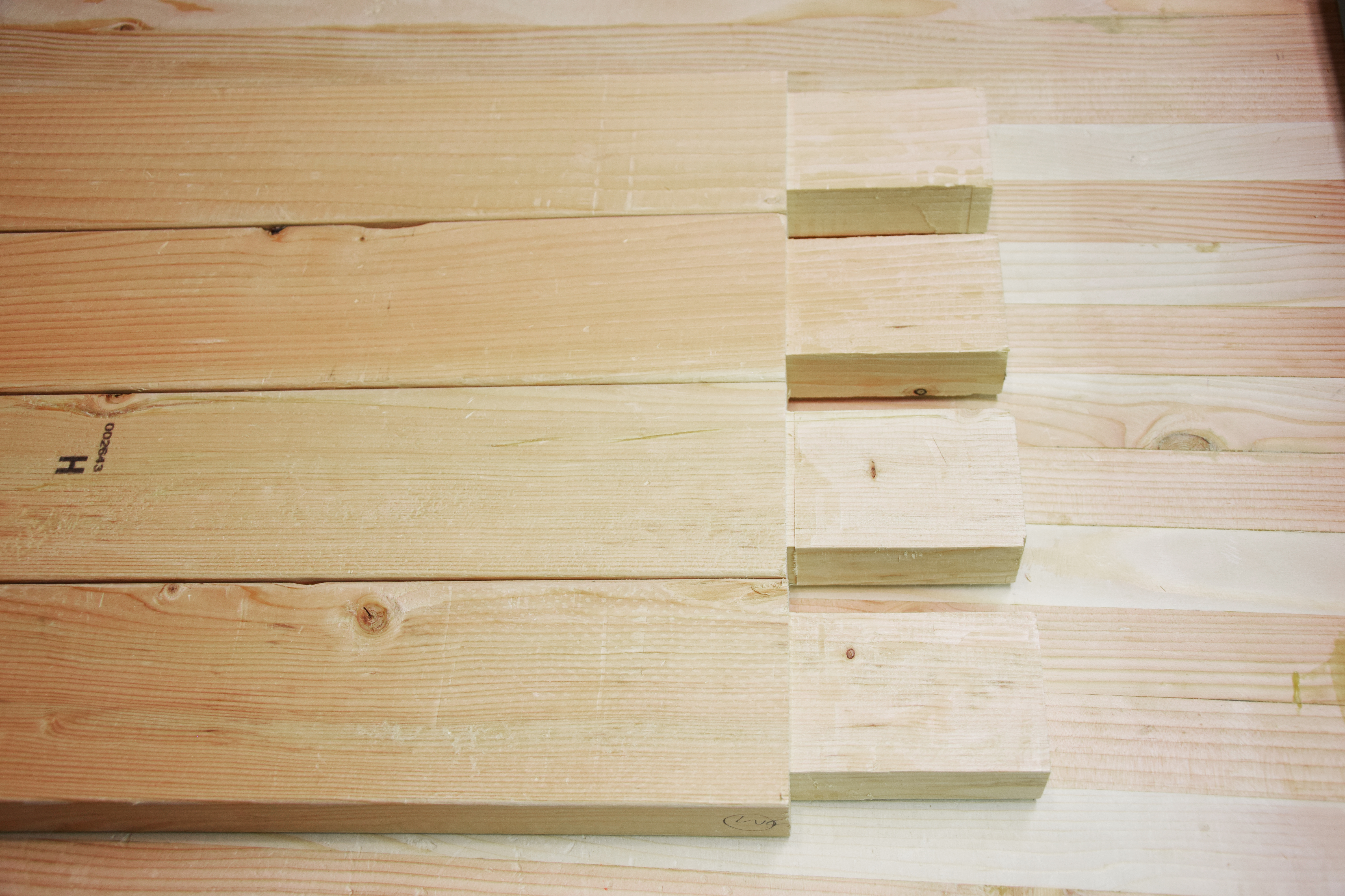 Picture of Cut Relief for Wedged Tenon