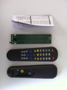 Disassemble REMOTE