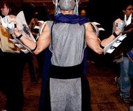 "How to Make a TMNT ""Shredder"" Costume"