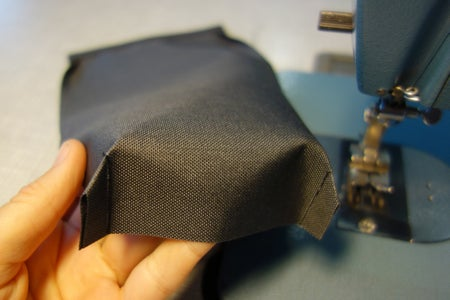 Lower Side Pouches: Trace, Cut, Sew