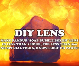 Get Famous Soap Bubble Bokeh Lens for Less Than $60