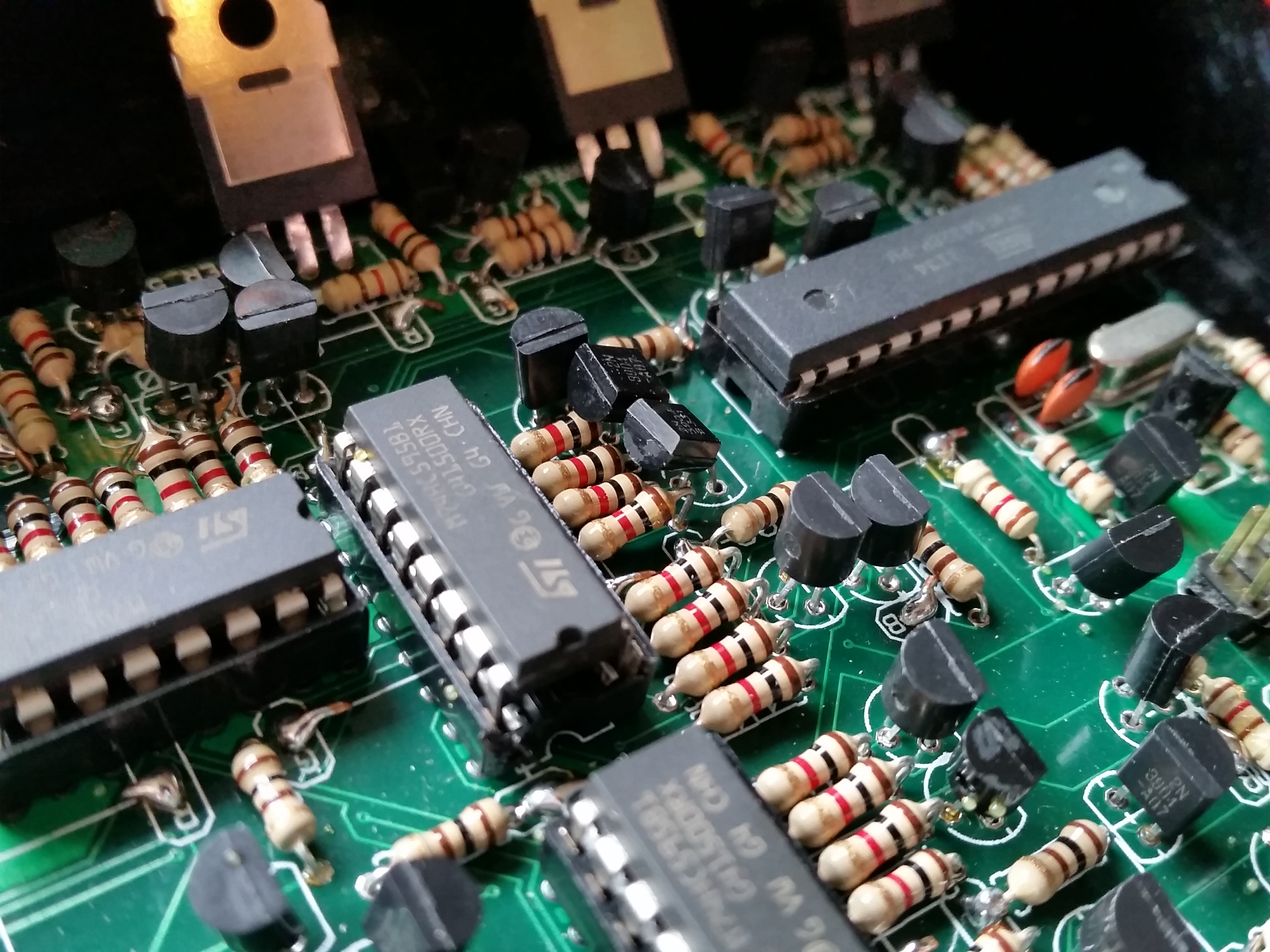 Picture of Soldering the PCB