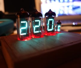 VFD-Tube Thermometer