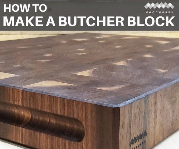 How to Make an End Grain Butcher Block