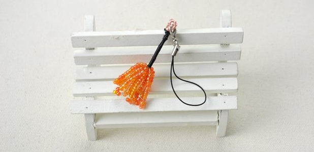 Small Witches Broom Charm for Halloween
