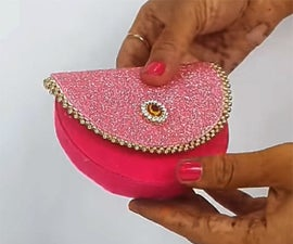 How to Make DIY Coin Purse From Waste Things?