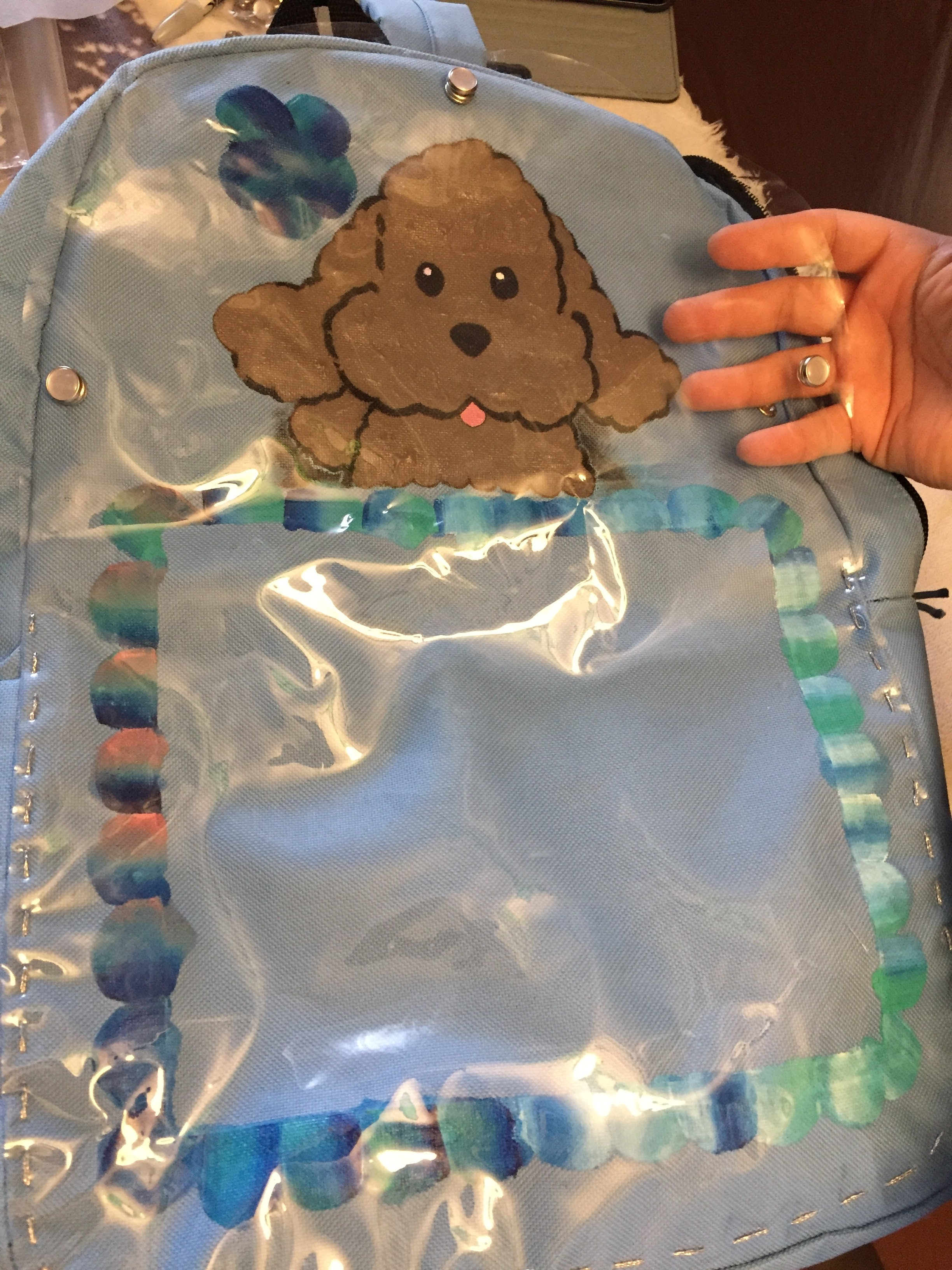 Picture of Ita Bag Without a Sewing Machine (but Not No-sew)