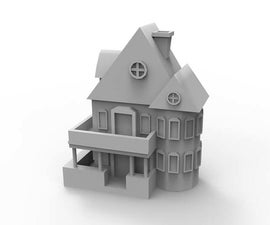 HOUSE 3d print (without support)