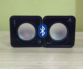 Convert Speakers to Bluetooth-speakers