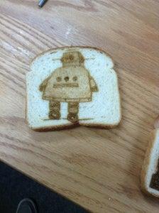 Laser Engraved Toast
