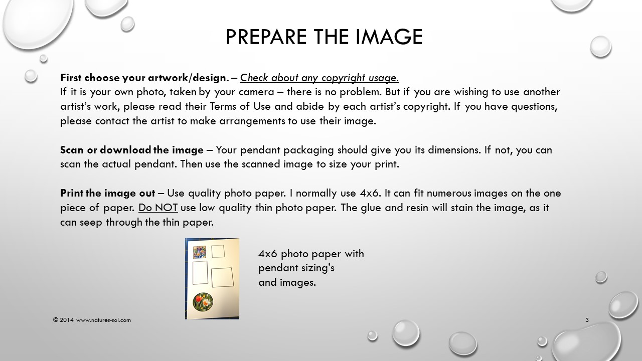 Picture of Get the Image Ready.