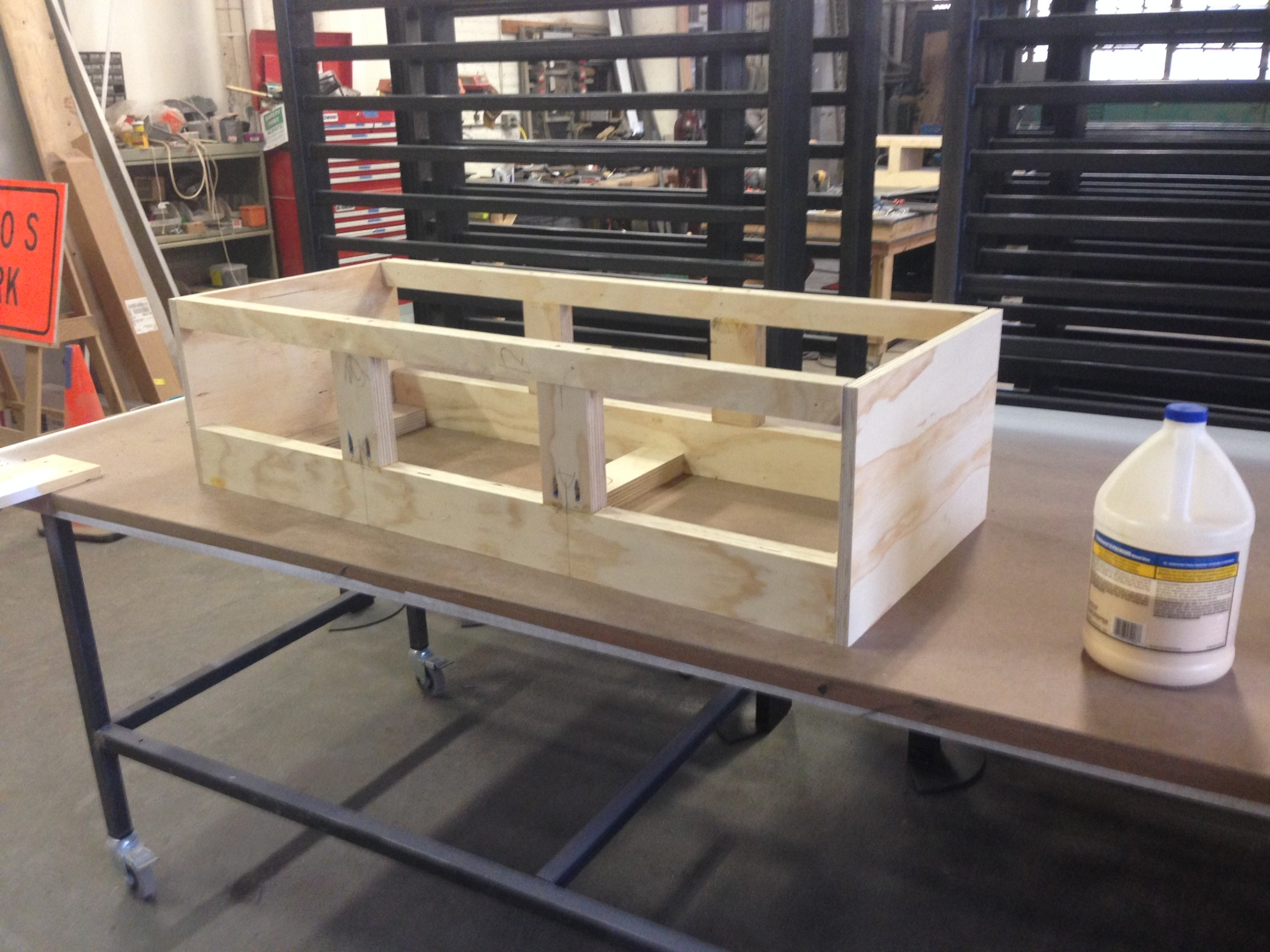 Picture of Assemble the Seat Boxes and the Seating Panels