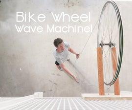 Bike Wheel Wave Machine!