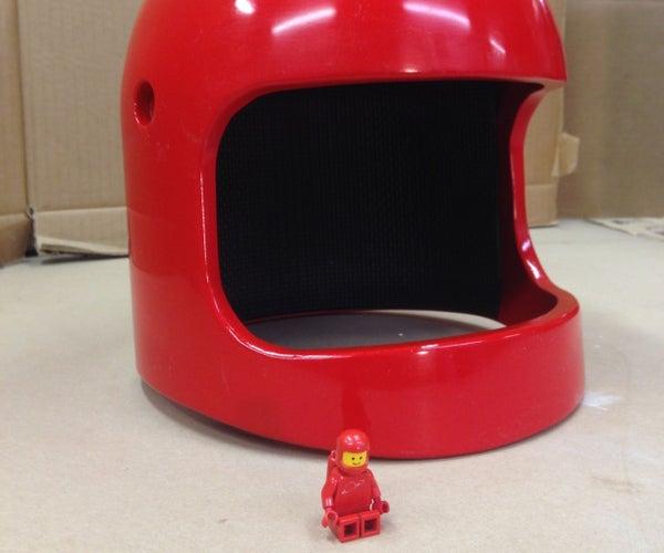 Full-size Lego Space Helmet