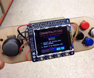 Raspberry Pi Portable Games Console