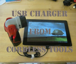 Power Tool USB Charger