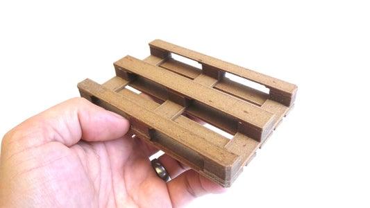 The Final Assembled Miniature Pallet