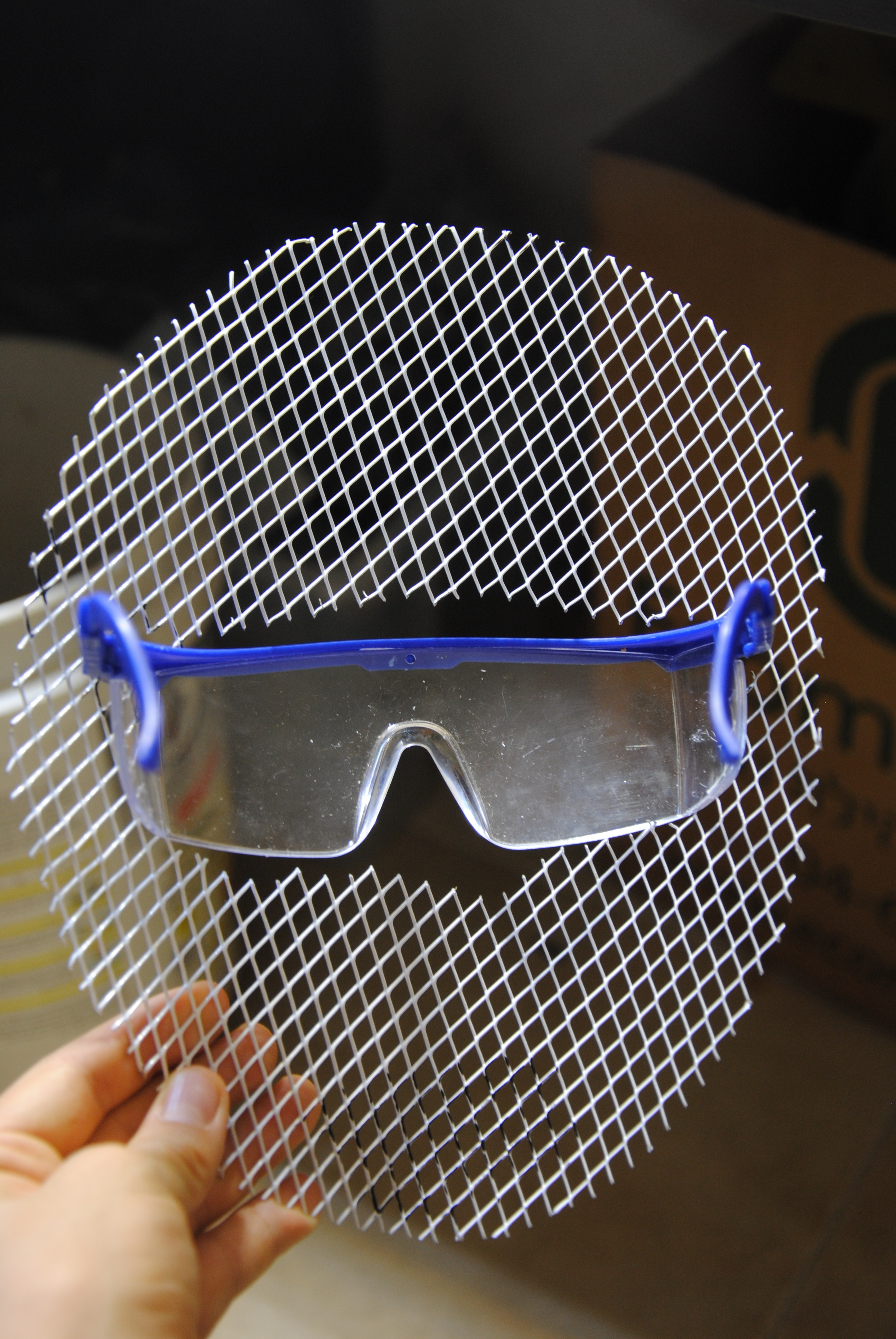 Picture of Cut Out the Hole for the Glasses