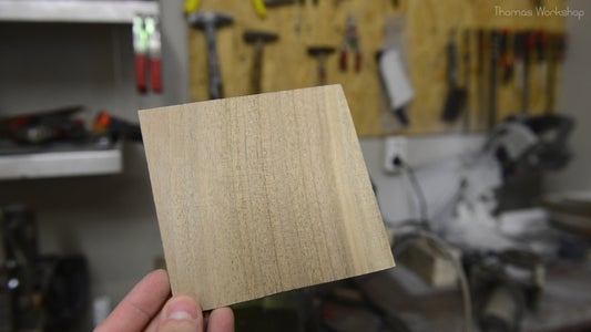 Prepare the Wood