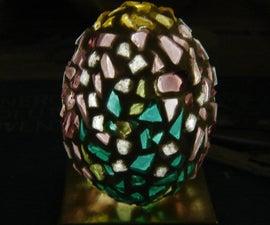 Mosaic Glass Egg