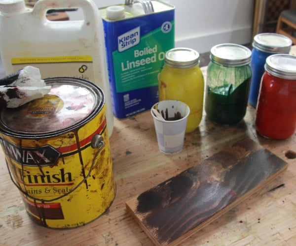 How to Make Your Own Stains