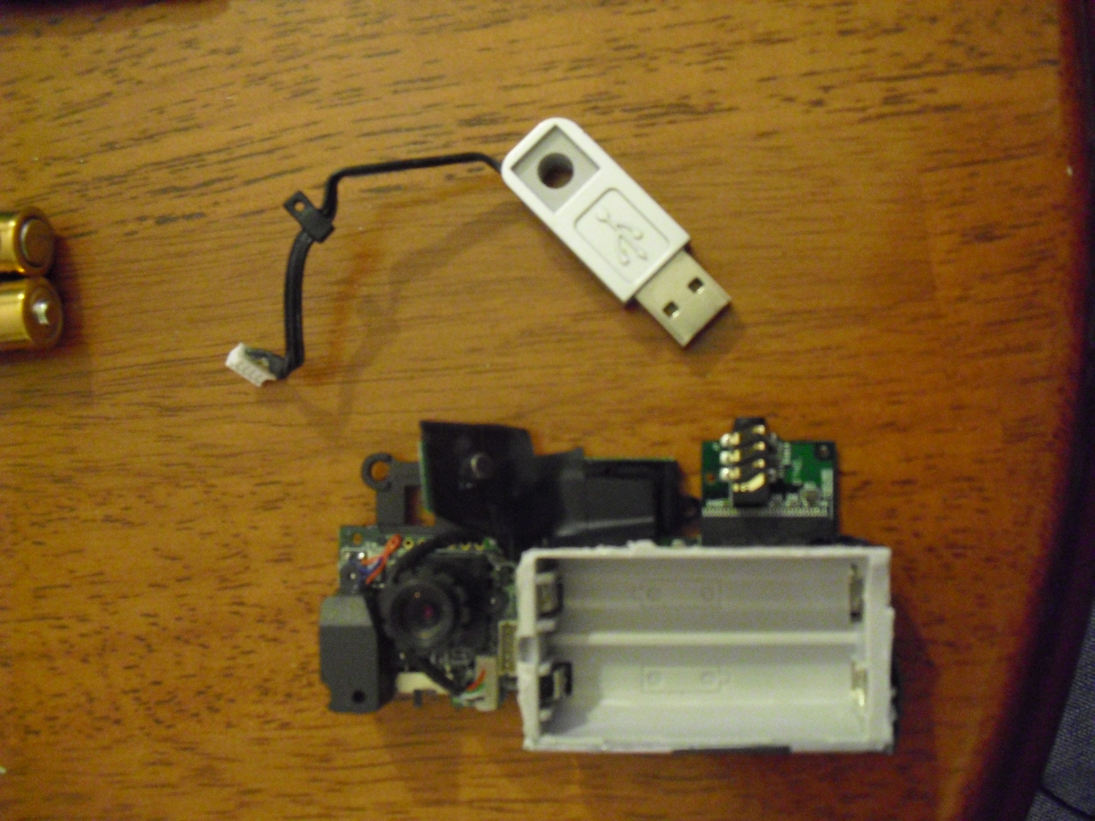 Picture of Recycled, Throw Away Spy Cam