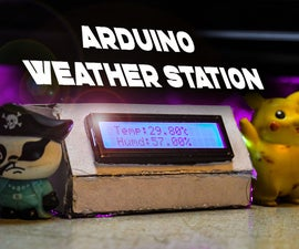 How to Make an Arduino Weather Station With DHT11 Temperature and Humidity Sensor