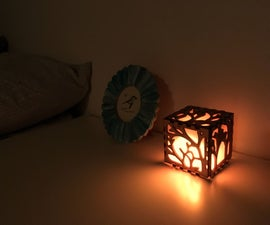Electronic Candle With Light Sensor