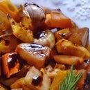 Norwegian Honeyed Root Vegetables