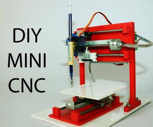 DIY Mini CNC Plotter Machine