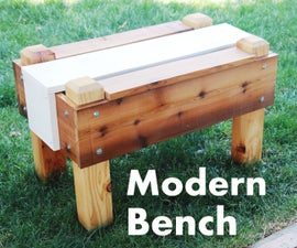 How To Build a Modern Bench